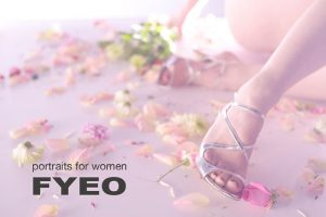 Wear your sexy shoes for your boudoir shoot at fyeo