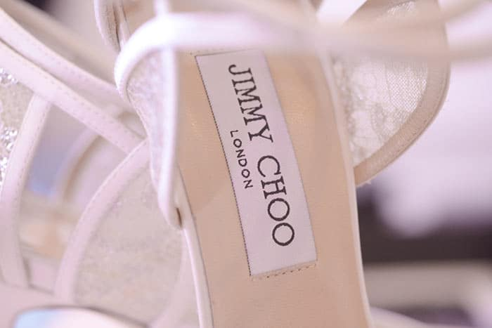 jimmy choo wedding shoes for boudoir