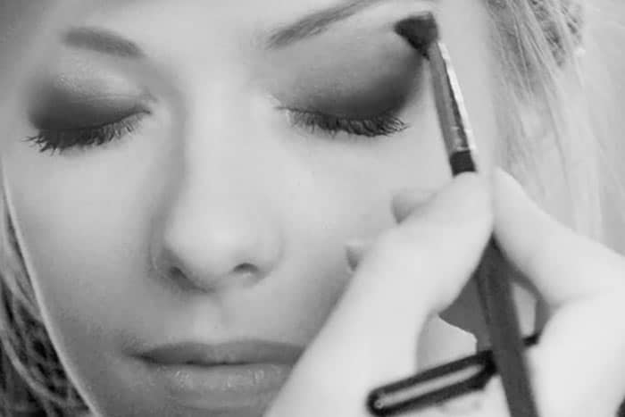 smokey eye makeover boudoir
