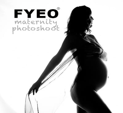 maternity boudoir photography by FYEO Portraits