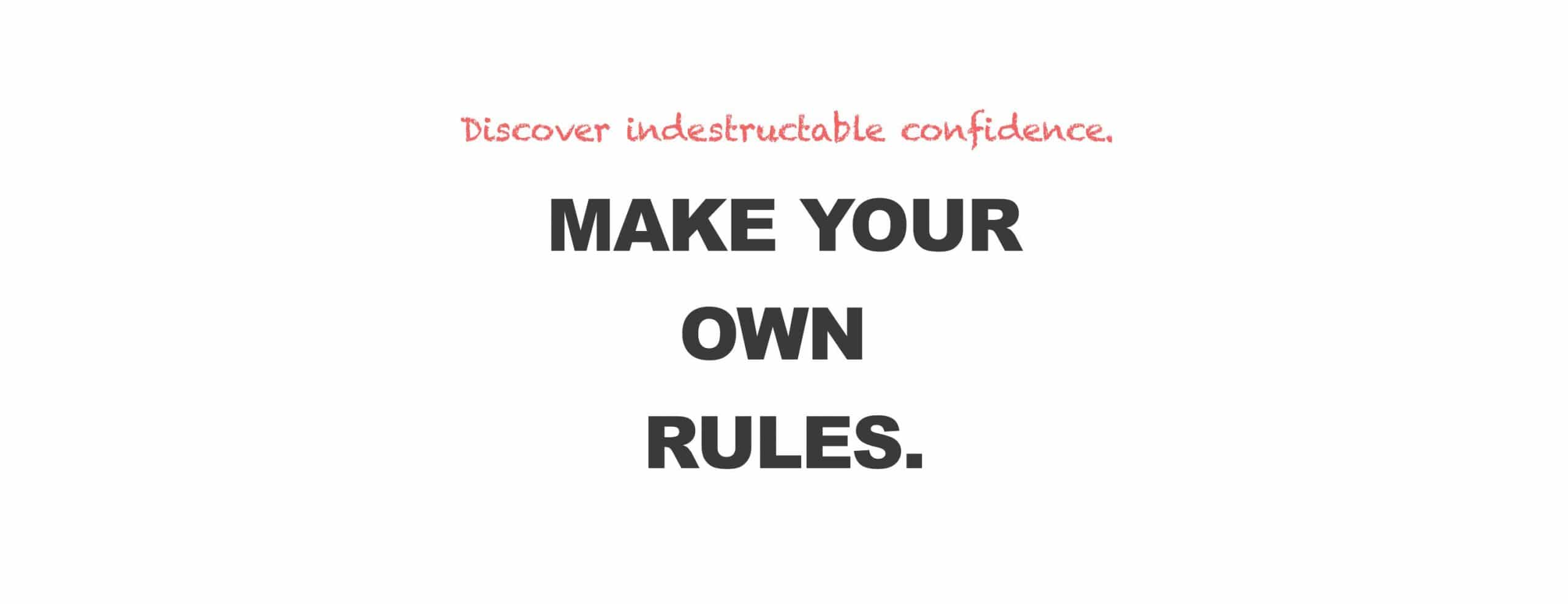 make your own rules at FYEO boudoir
