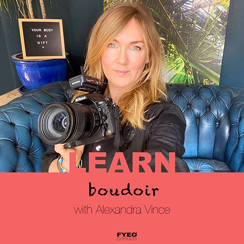 learn boudoir photography training course