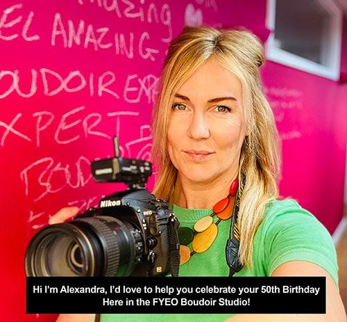 Alex 50th Birthday Gift