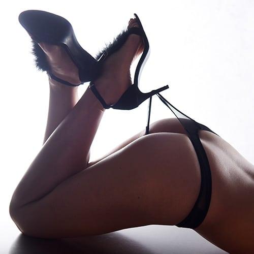 heel knicker boudoir nude