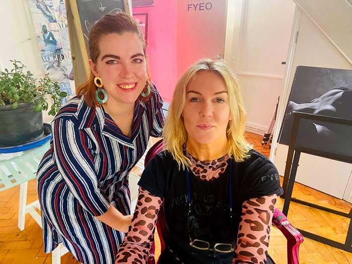 Claire and Alexandra Boudoir photographers